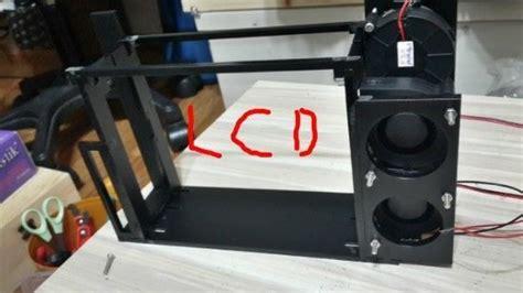 diy kx led beam projector