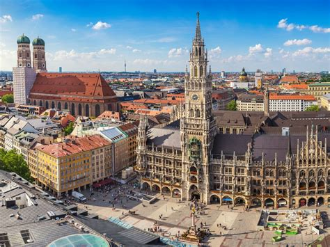München by Marienplatz Meydanı Nerede Nasıl Gidilir Gezilecek Yerler