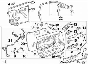 Cadillac Cts Door Wiring Harness  W  Cts V  Right  Front