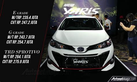 Harga Clear Blue 2018 harga toyota yaris facelift 2018 autonetmagz review