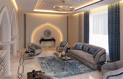Modern Islamic Home Interior Design Muscat Oman Cas