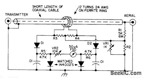 logarithmic wattmeter electrical equipment circuit circuit diagram seekic