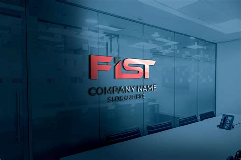 Initial FIST Logo Design Free Ai Download - GraphicsFamily