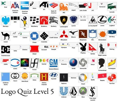 Logo Quiz Answers Level 5