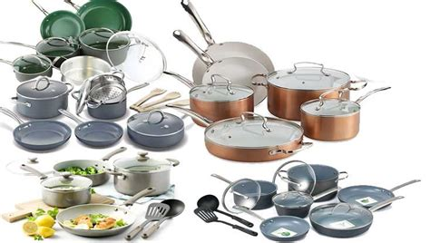cookware  safe   family ceramic  nonstick  stainless steel cookware