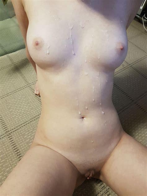 My Cum Covered Tits Porn Pic EPORNER