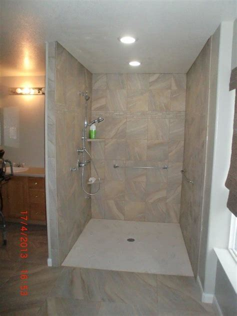 euro style  threshold shower parker  accessible