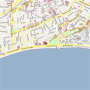 Map Nice Promenade Des Anglai