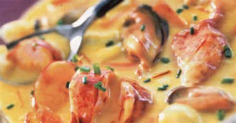 cuisiner le safran cassolette de la mer au safran recette cassolette le