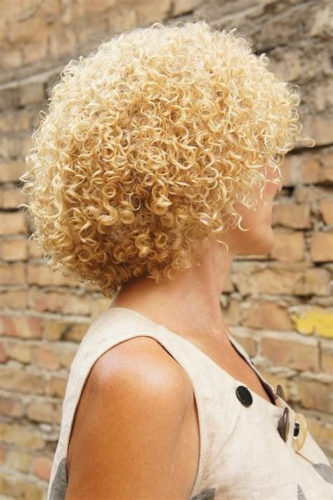 coily hair permed hairstyles short permed hair curly