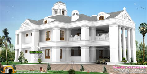 colonial luxury house plans december 2015 kerala home design and floor plans