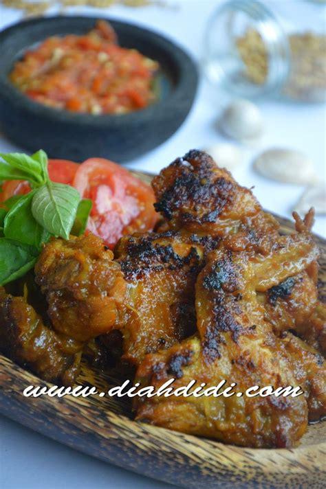 diah didis kitchen ayam bakar bumbu opor  recipe