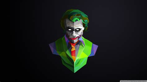 Joker 4k Hd Desktop Wallpaper For • Wide & Ultra