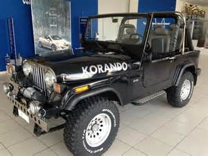 jeep 1985 for sale ssangyong korando jeep specification cars for sale