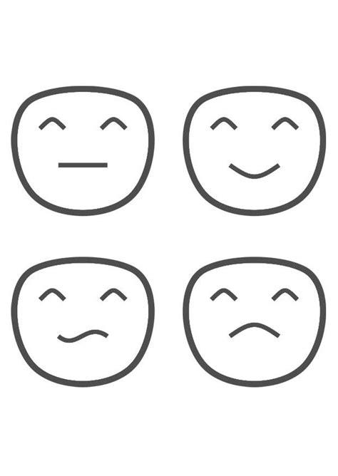 Kleurplaten Emoties by Kleurplaat Emoties Afb 29330 Images