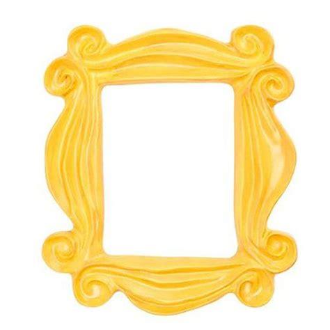 friends door frame handmade yellow peephole frame as seen on