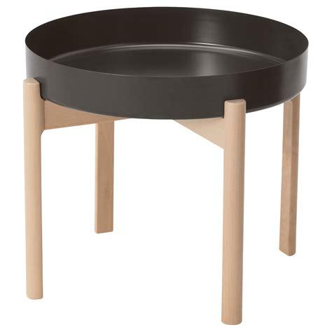 ikea side table uk ypperlig coffee table dark grey birch 50 cm ikea