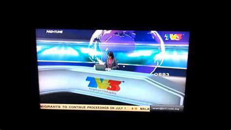 tv malaysia  june  continuity  nightline    youtube