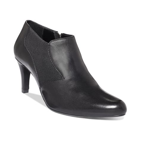 lyst ellen tracy carlton dress booties  black