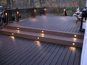 éclairage Escalier Extérieur : eclairage pour terrasse en bois exterieur ~ Premium-room.com Idées de Décoration