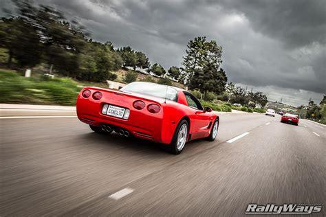 corvette   rolling shot