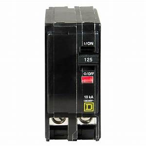 Square D Qo 125 Amp 2-pole Circuit Breaker-qo2125cp