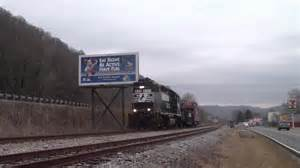 Railfanning the West Virginia Secondary. NS 92Z At Rand ...