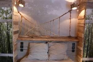 Deco Chambre Bois : chambre deco bois flotte visuel 2 ~ Melissatoandfro.com Idées de Décoration