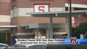 Seabreeze High School student arrested for having gun,...