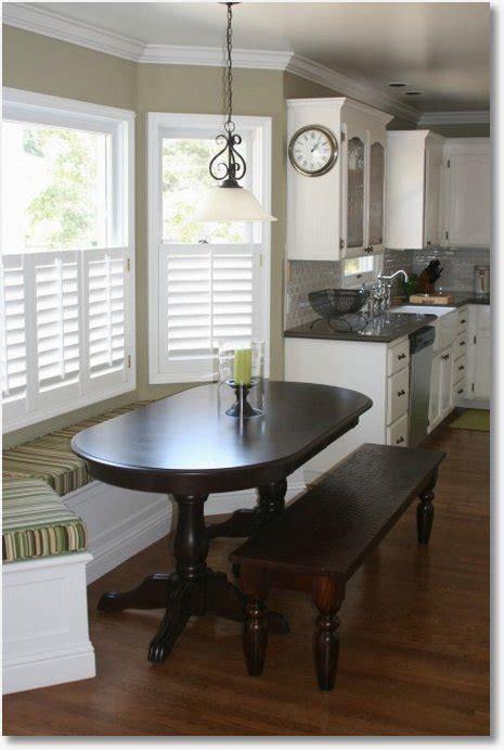 perfect space saving kitchen window seat