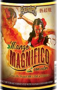 Founders Mango Magnifico con Calor Is Newest Backstage ...