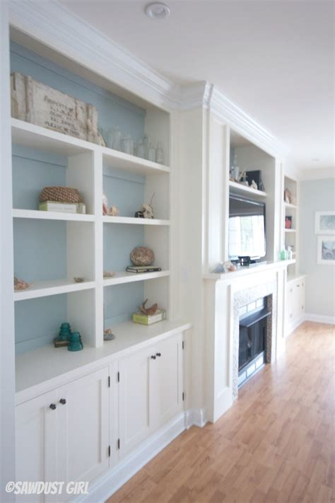 how to make built in cabinets built in entertainment center and fireplace