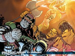 Onslaught Reborn #3 variant cover by Ed McGuinness ...