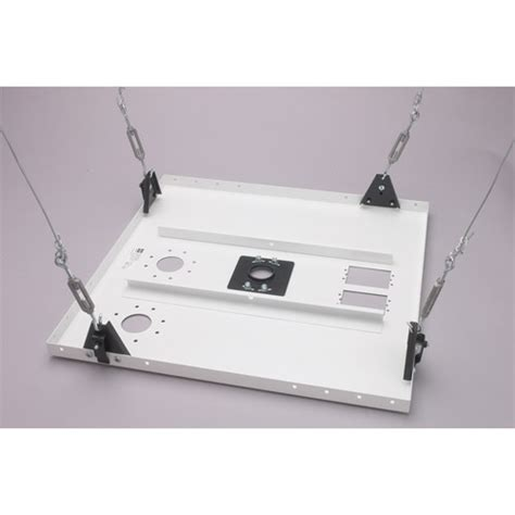 projector mount drop ceiling grid chief cma450 cma450 suspended ceiling kit herman proav