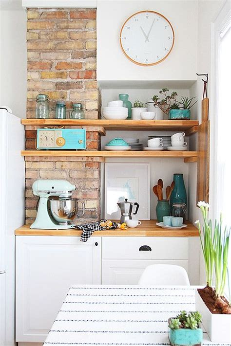 etagere murale a peindre brilliant kitchen makeover on a budget decoholic