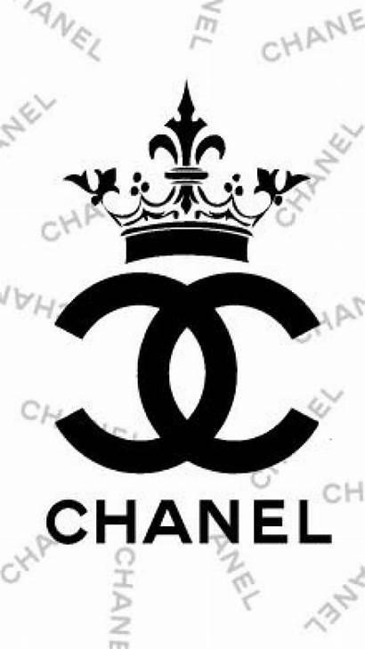 Chanel Coco Stencil Coloring Wallpapers Decor Printables