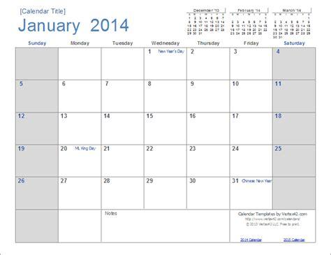 Free Printable Calendar Templates 2015 Erieairfair