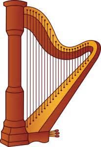 Harp Musical Instruments Clip Art