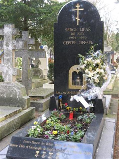 bureau genevieve des bois serge lifar photo de cimetière russe de sainte geneviève