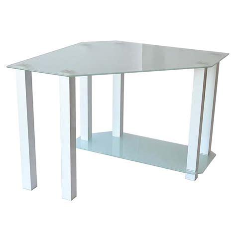 glass corner computer desk rta frosted glass corner computer desk white ct 013w