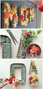Diy Deko Ideen : diy deko idee buchstaben aus blumen basteln zimmer dekorieren muttertag bastelideen ~ Whattoseeinmadrid.com Haus und Dekorationen
