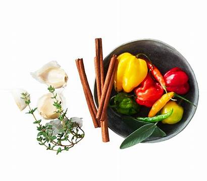 Spices Herbs Flavors Flavor Background Transparent Naturally