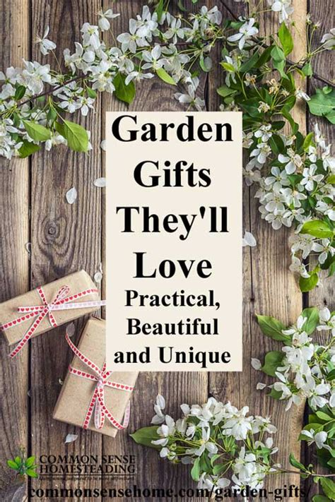 Unique Garden Gifts - garden gifts they ll practical beautiful and unique