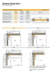 Garage Door Dimensions Standard Size
