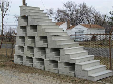 premade porch steps precast concrete steps yard decorations and