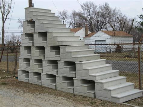 precast cement steps precast concrete steps yard decorations and 1624