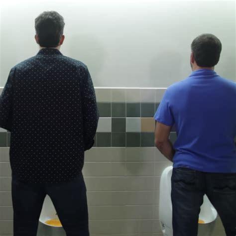 urinal etikette