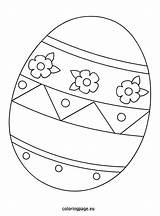 Easter Egg Printable Coloring Pages Template Bunny Shapes Colouring Templates Sheets Eggs Printables Rabbit Coloringpage Eu Eggrolls Pattern Related Freeeaster sketch template