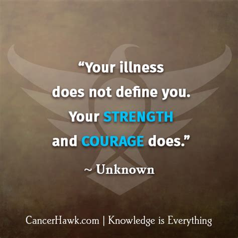 motivational fighting cancer quotes cancerhawk