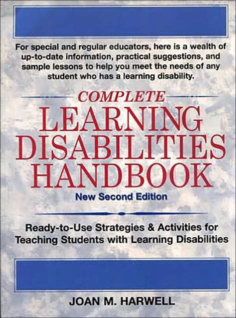 complete learning disabilities handbook ready